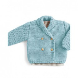 Palto Woody - baby sweater pattern