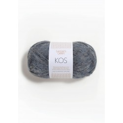 KOS - 62% alpaca, 9% merino and nylon