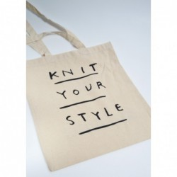 Knit Your Style - tote bag