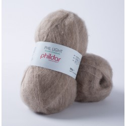 Phil Light - mohair and acryl mix