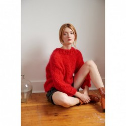 Mohair Sweater - pattern