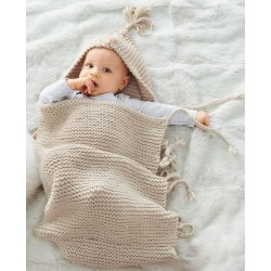 Little sleeping bag - pattern