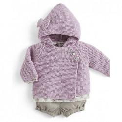 Palto Zoe - baby sweater pattern