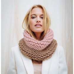Bi-color Snood - DIY Kit