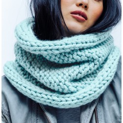 Two-sided Jumbo Snood - DIY...