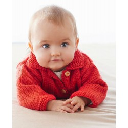 Red Baby Jacket - DIY Kit