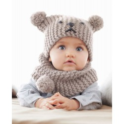 Baby Beanie and Snood - DIY...