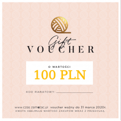 Gift voucher - value 100 PLN