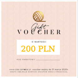 Gift voucher - value 200 PLN