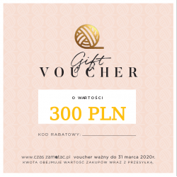 Gift voucher - value 300 PLN