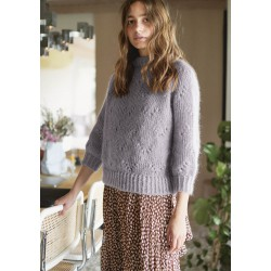 Mohair Poppy sweater - pattern